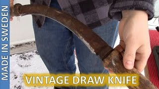 Draw Knife Restoration - SATER BANKO - Antique