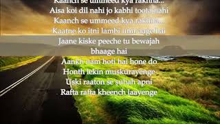 TERI KHUSHBOO ARIJIT SINGH KARAOKE WITH LYRICS YouTube