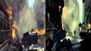 MW3- Xbox 360 and Wii comparison- HD