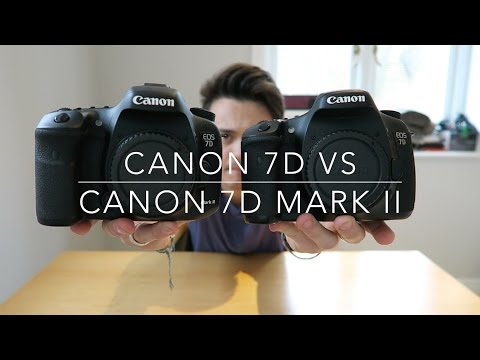 Canon 7D Mark II vs Canon 7D | Hands on comparison