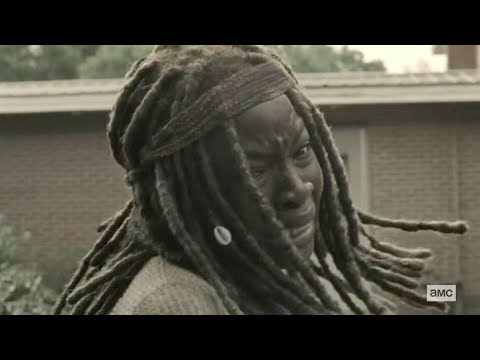 Michonne Saves Judith From The Kids | THE WALKING DEAD 9x14 [HD] Scene