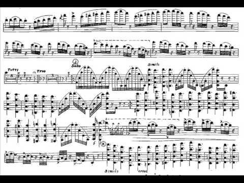 Paganini, Niccolo 5th violinconcerto mvt 3 Rondo