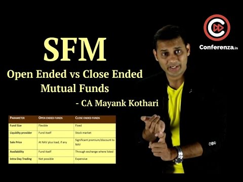 Open Ended and Close Ended Mutual Funds