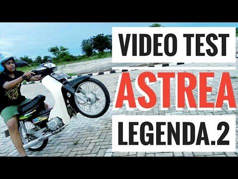 Video test Honda Astrea Legenda 2 modif harian