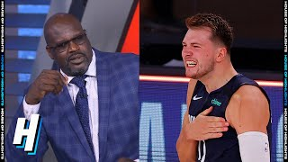 Shaq Not Impressed With Luka Doncic GAME-WINNER vs Clippers - Game 4