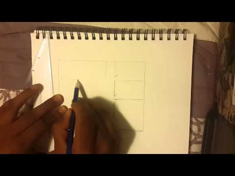 How to draw a simple blueprint for a house (MESA)