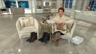 Comfortiva by Softspots Leather or Suede AnkleBoots - Vestry on QVC