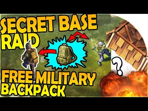NEW SECRET RAID, FREE MILITARY BACKPACK + TONS OF COPPER - L