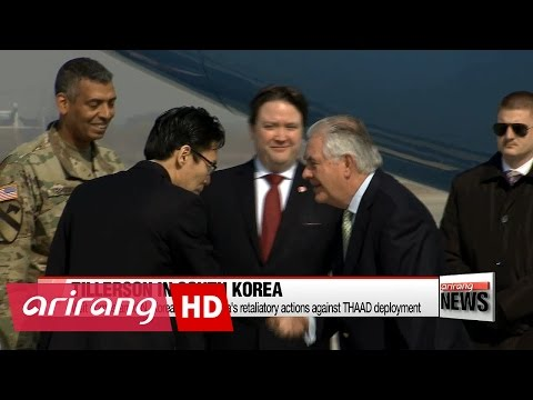Tillerson to discuss 'new approach' on N. Korea with S. Korean counterpart in Seoul