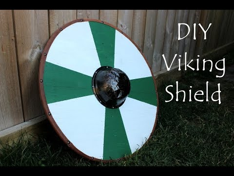 Diy Viking Shield For Kids And Grown Ups Youtube
