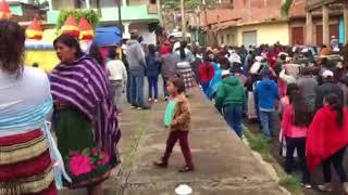 24 De Junio Día De SAN JUAN Llegada a la Plaza Nuevos Capitanes!!! Santiago Azajo
