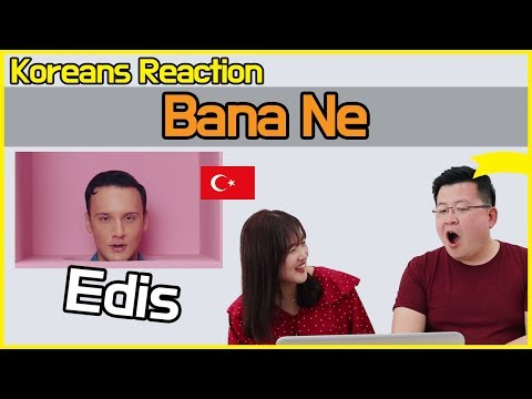 Edis - Bana Ne Reaction [Koreans Hoon & Cormie] / Hoontamin