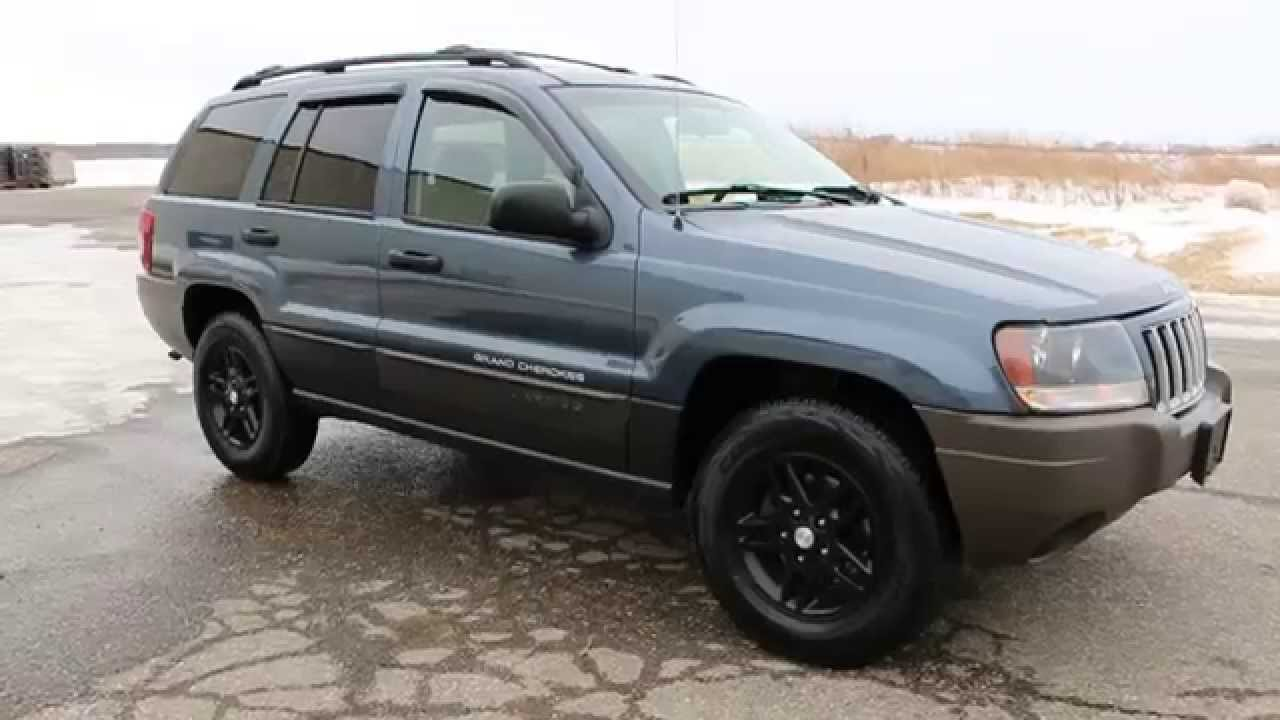 2004 Jeep Grand Cherokee Laredo 4x4 For Sale~New Tires~Runs U0026 Drives  Fantastic!
