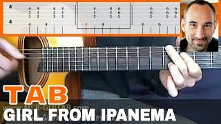 """Guitar Cover / Tab """"The Girl From Ipanema"""" by MLR-Guitar"""