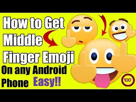 Hindi||middle Finger Emoji||middle Finger Emoji Android||middle Finger Emoticon In Hindi || Hindi