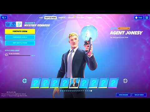 How to UNLOCK the SECRET SKIN in Fortnite Season 5 Battle Pass!