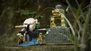 LEGO City Jungle Explorers and National Geographic – The lost City of Gold