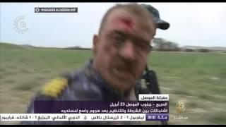 معركة الموصل| حرب شوارع بين القوات الأمنية ومسلحي تنظيم الدولة