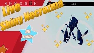 Live Shiny Necrozma - 36 raİds - Crown Tundra - Pokemon Shield