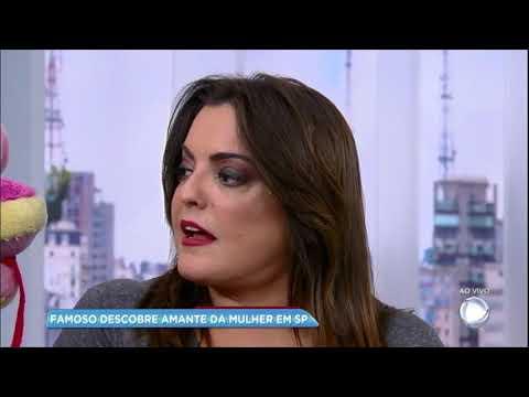 Hora da Venenosa: Famoso descobre amante da mulher em SP