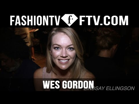 Wes Gordon Spring 2016 Arrivals at New York Fashion Week | NYFW | FTV.com