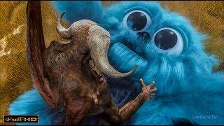 Легенды в образе БИБО против Маллуса (Демон)