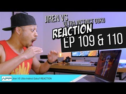 Jiren vs Ultra Instinct Goku Reaction! DBS 109 & 110
