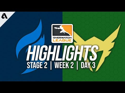 Dallas Fuel vs Los Angeles Valiant | Overwatch League Highlights OWL Stage 2 Week 2 Day 3