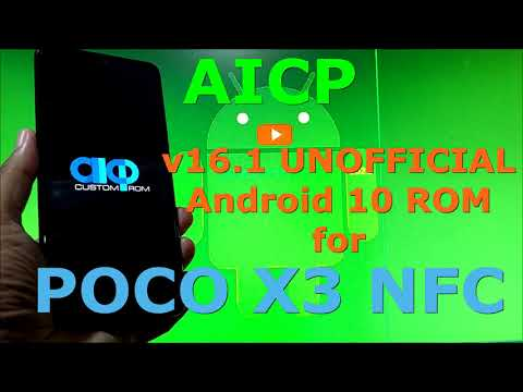 AICP 16.1 Unofficial for Poco X3 NFC (Surya) Android 11