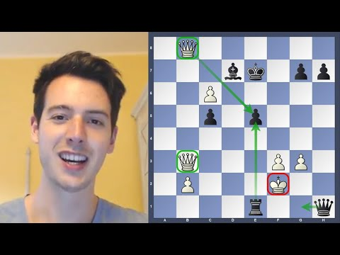 Insane Chess Game From The Mitropa Cup | Game Analysis