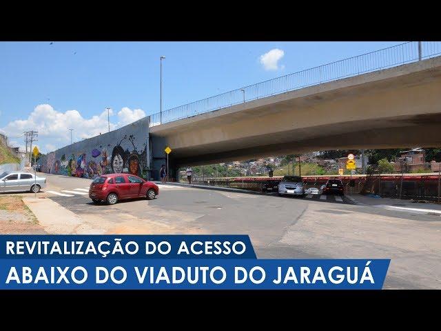 Revitalização do acesso debaixo do Viaduto do Jaraguá