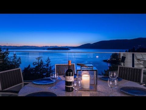 Stunning West Vancouver Luxury Home with Breathtaking Ocean Views