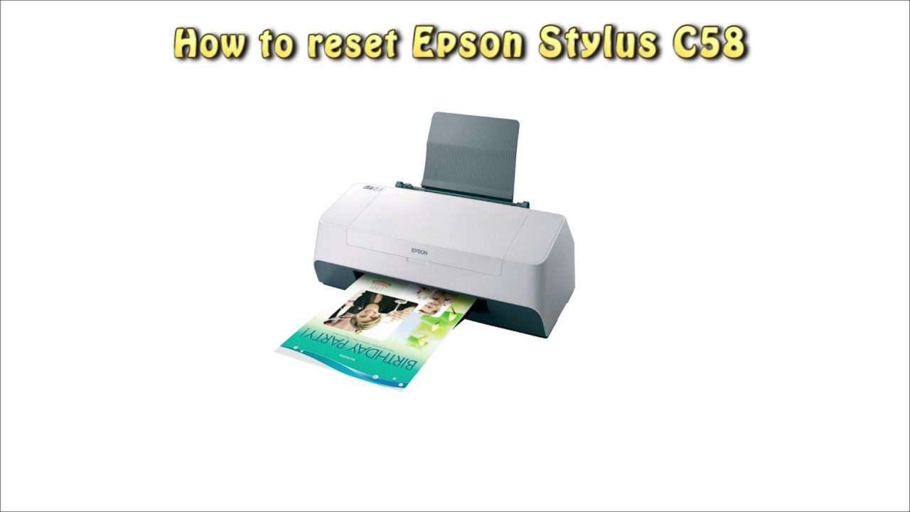 EPSON C58 DRIVER FOR WINDOWS DOWNLOAD