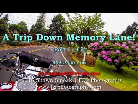 A Trip Down Memory Lane! (Pt.1/2) | Road King | MotoVlog 160