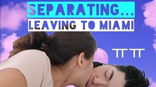 Our Longest Separation Yet ㅠㅠ (From China to U.S.A.) | Spanish Subtitles
