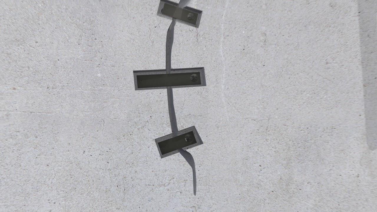 permanent concrete crack repair