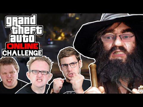 Challenge: Räuber und Gendarm die Zweite! 🎮 Grand Theft Auto Online #196