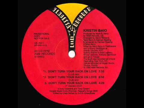 Kristin Baio - Don't Turn Your Back On Love