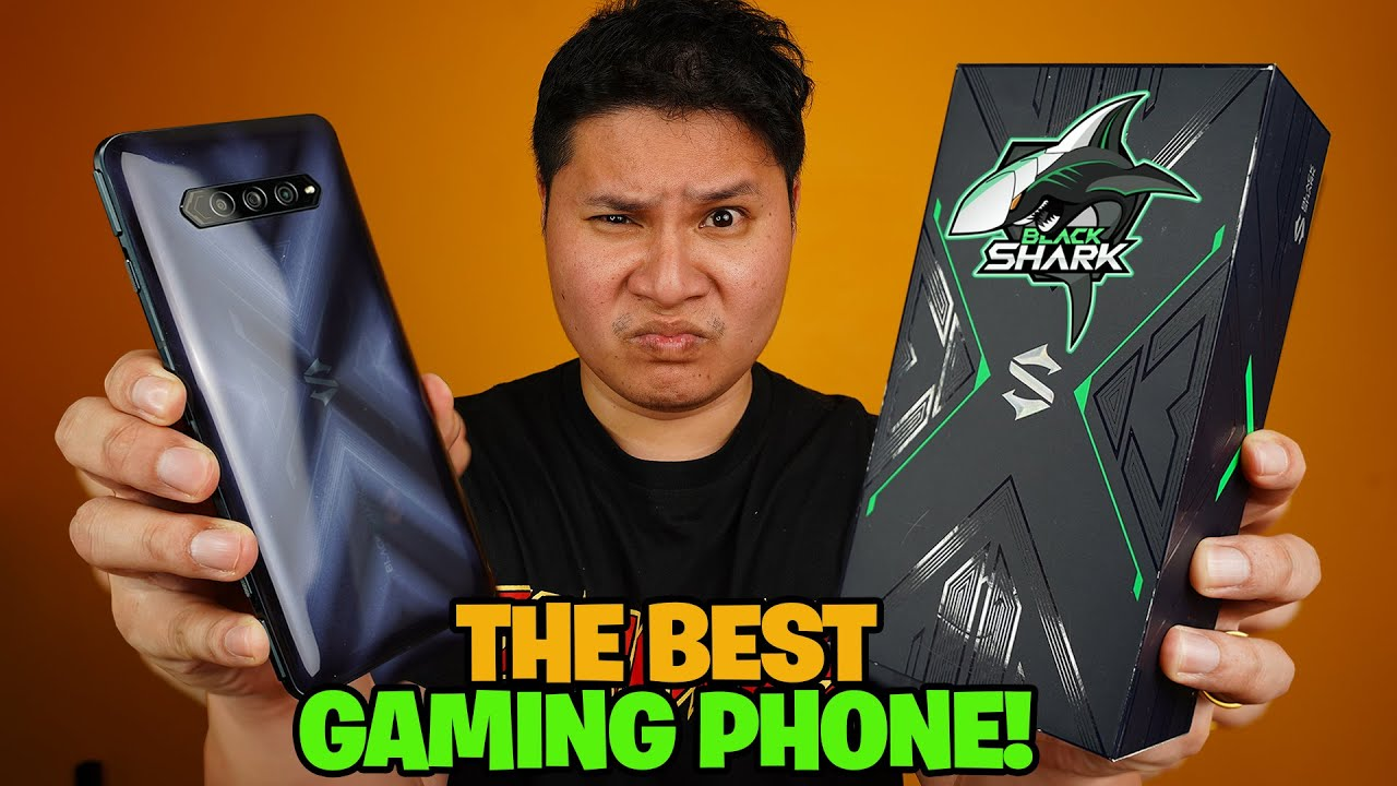 BLACK SHARK 4 - THE BEST GAMING PHONE!