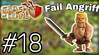 Letzte Station for Titan. Fail Angriff. Clash of Clans (Deutsch/HD)