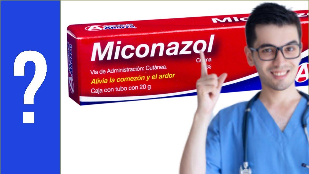 tiña inguinal miconazol
