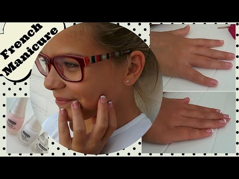 D.I.Y Makkelijke French Manicure Tutorial