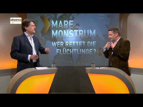 """Augstein und Blome vom 23.04. 2015  """"Mare Monstrum - Wer rettet die Flüchtlinge?"""""""