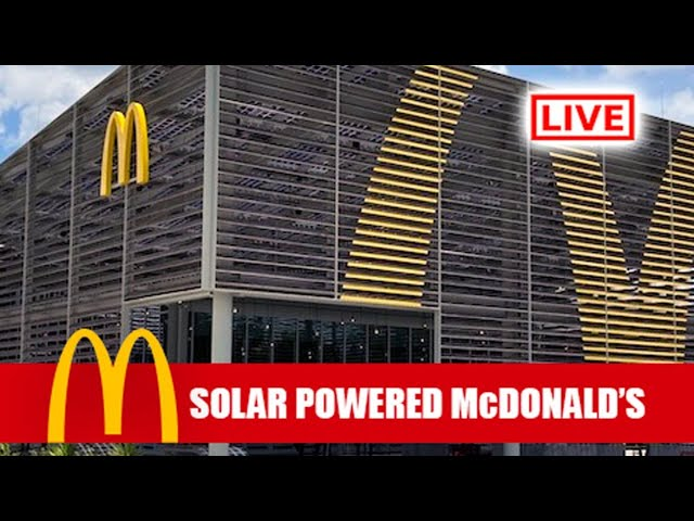 LIVE: Brand New Solar McDonald's at Walt Disney World - Join Us For Dinner