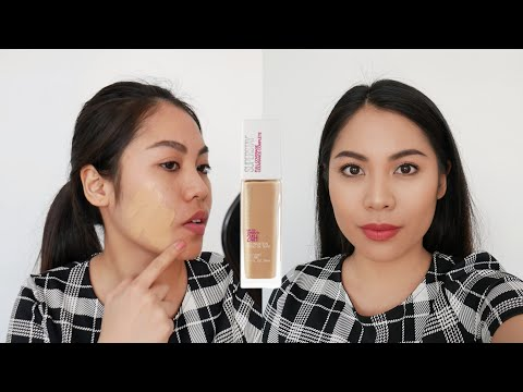 Maybelline Superstay 24H Full Coverage Foundation Review (Philippines)