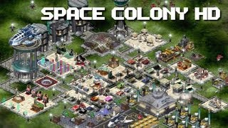 Space Colony HD Gameplay (PC HD)