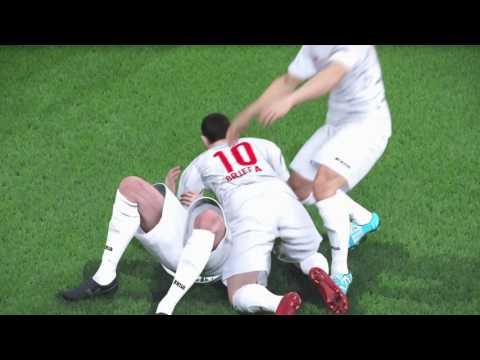 PES 2017 - UEFA CHAMPIONS LEAGUE  FINAL - VALLETTA FC 1-0 BENFICA
