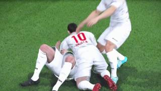 PES 2017 - UEFA CHAMPIONS LEAGUE  FINAL - VALLETTA FC 1-0 BENFICA
