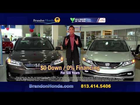 Brandon Honda Special on the Accord