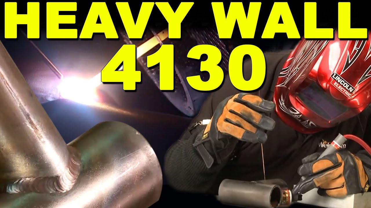 Tig welding 4130 steel - Tig Welding Heavy Wall 4130 Chrome Moly Tig Time